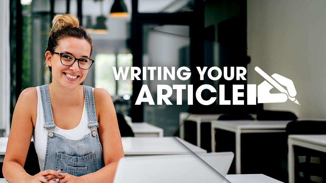Writing your Article